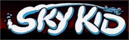 Arcade Cabinet Marquee for Sky Kid Deluxe.