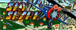 Arcade Cabinet Marquee for Sky Shark.