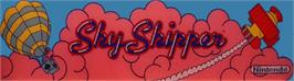 Arcade Cabinet Marquee for Sky Skipper.
