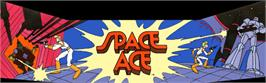 Arcade Cabinet Marquee for Space Ace.