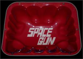 Arcade Cabinet Marquee for Space Gun.