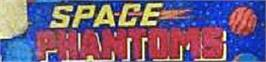 Arcade Cabinet Marquee for Space Phantoms.