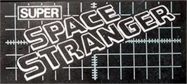Arcade Cabinet Marquee for Space Stranger.