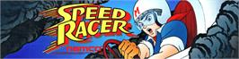 Arcade Cabinet Marquee for Speed Racer.