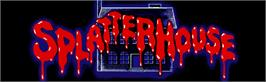 Arcade Cabinet Marquee for Splatter House.
