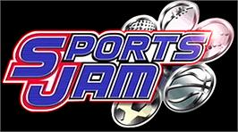 Arcade Cabinet Marquee for Sports Jam.