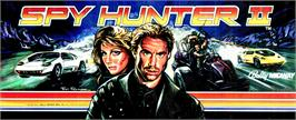 Arcade Cabinet Marquee for Spy Hunter 2.