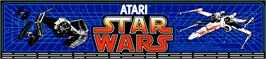 Arcade Cabinet Marquee for Star Wars.