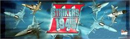 Arcade Cabinet Marquee for Strikers 1945 III.