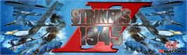 Arcade Cabinet Marquee for Strikers 1945 II.