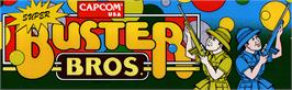 Arcade Cabinet Marquee for Super Buster Bros..