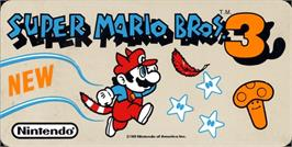 Arcade Cabinet Marquee for Super Mario Bros. 3.