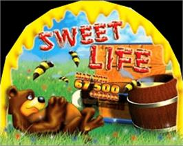 Arcade Cabinet Marquee for Sweet Life.