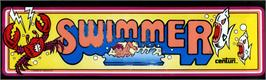 Arcade Cabinet Marquee for Swimmer.