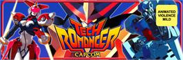 Arcade Cabinet Marquee for Tech Romancer.