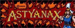 Arcade Cabinet Marquee for The Astyanax.