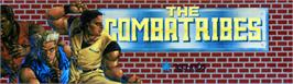 Arcade Cabinet Marquee for The Combatribes.