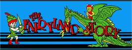 Arcade Cabinet Marquee for The FairyLand Story.