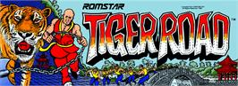 Arcade Cabinet Marquee for Tiger Road.
