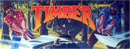 Arcade Cabinet Marquee for Timber.