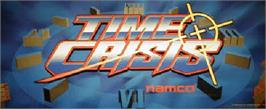 Arcade Cabinet Marquee for Time Crisis.