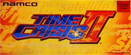 Arcade Cabinet Marquee for Time Crisis 2.