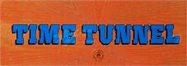 Arcade Cabinet Marquee for Time Tunnel.