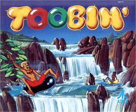 Arcade Cabinet Marquee for Toobin'.