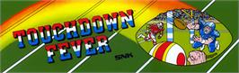 Arcade Cabinet Marquee for TouchDown Fever 2.