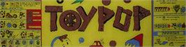 Arcade Cabinet Marquee for Toypop.