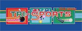 Arcade Cabinet Marquee for Tri-Sports.