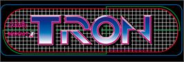 Arcade Cabinet Marquee for Tron.