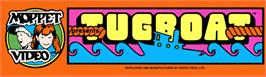 Arcade Cabinet Marquee for Tugboat.