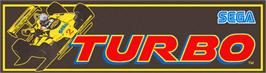 Arcade Cabinet Marquee for Turbo.