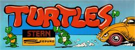 Arcade Cabinet Marquee for Turtles.