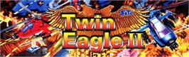 Arcade Cabinet Marquee for Twin Eagle II - The Rescue Mission.