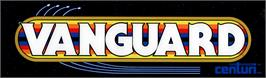 Arcade Cabinet Marquee for Vanguard.