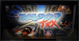Arcade Cabinet Marquee for Vapor TRX.