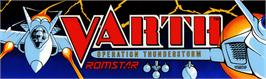 Arcade Cabinet Marquee for Varth: Operation Thunderstorm.