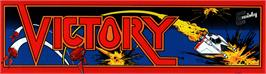 Arcade Cabinet Marquee for Victory.