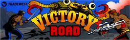 Arcade Cabinet Marquee for Victory Road.