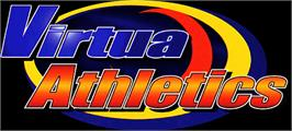 Arcade Cabinet Marquee for Virtua Athletics / Virtua Athlete.