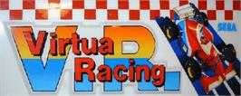 Arcade Cabinet Marquee for Virtua Racing.