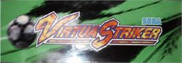 Arcade Cabinet Marquee for Virtua Striker.