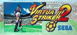 Arcade Cabinet Marquee for Virtua Striker 2 '98.