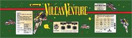 Arcade Cabinet Marquee for Vulcan Venture.