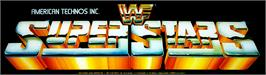 Arcade Cabinet Marquee for WWF Superstars.