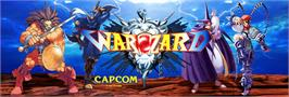 Arcade Cabinet Marquee for Warzard.
