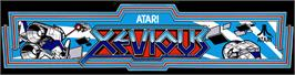 Arcade Cabinet Marquee for Xevious.