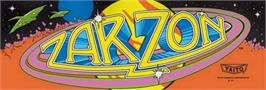 Arcade Cabinet Marquee for Zarzon.